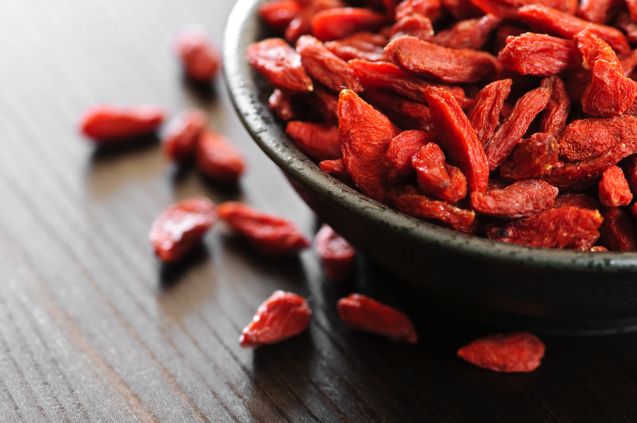 Goji, gustare delicioasa si antioxidant puternic