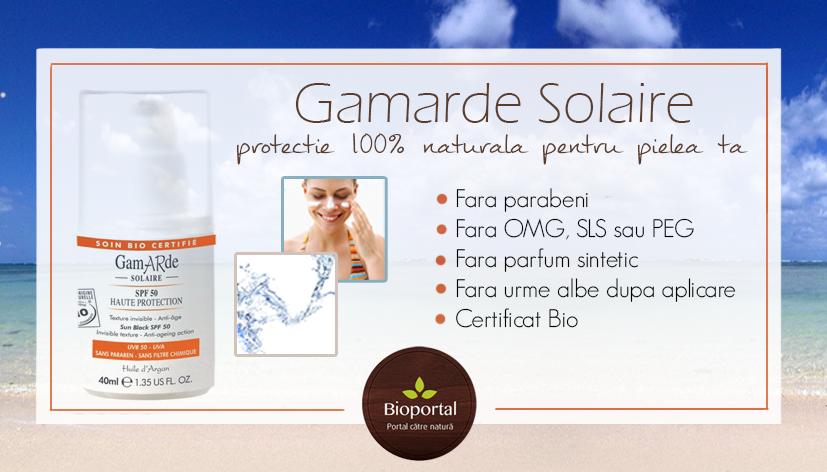 Gamarde Solaire – protectie solara pentru o piele mereu tanara