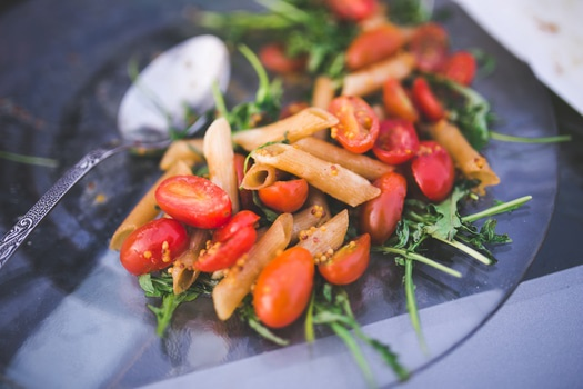 Paste din hrisca cu legume, busuioc si parmezan