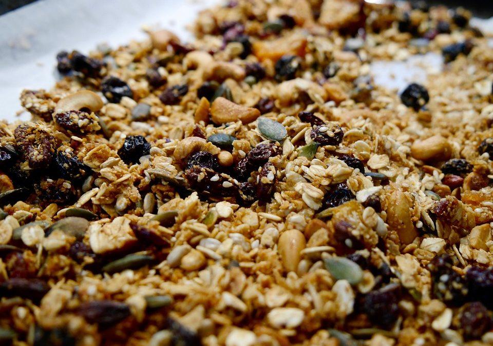 Granola cu ulei de cocos