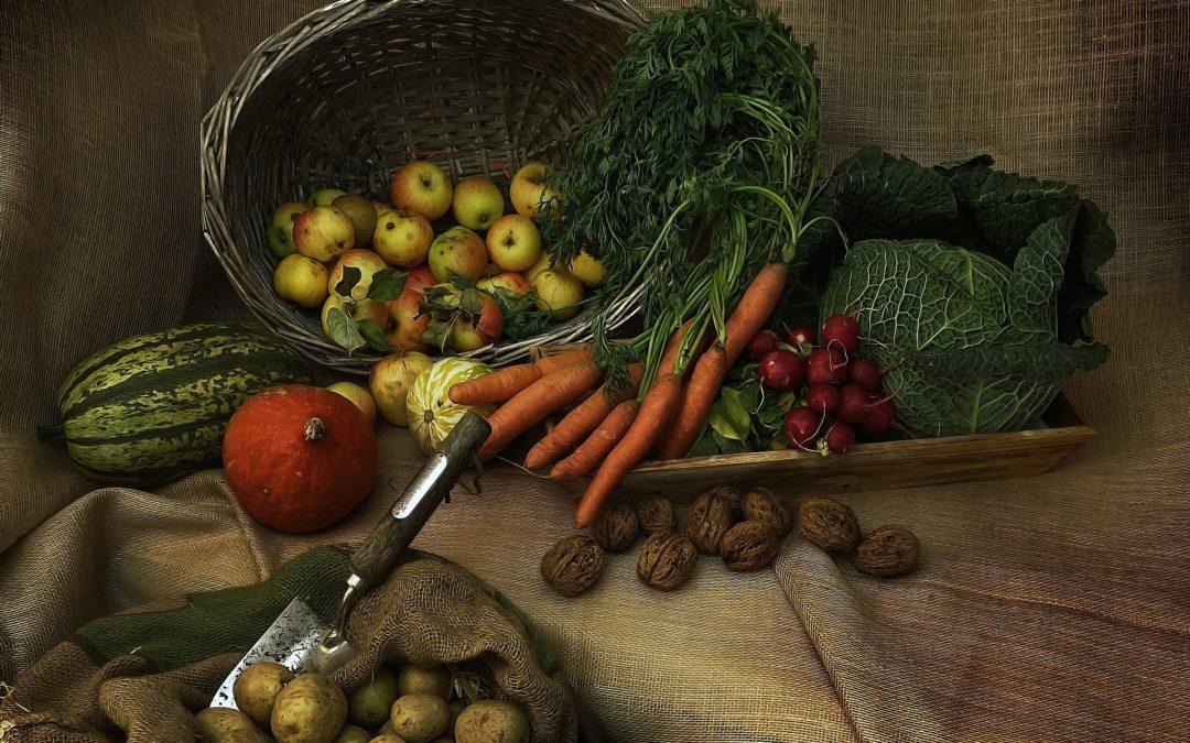 Cum aratau fructele si legumele inainte sa fie domesticite