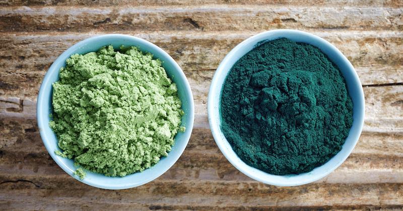 Care este diferenta dintre spirulina si chlorella?